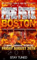 Fire Fete Boston Flyer by AnotherBcreation