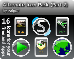 Alternate Icons ..::Part 2::.. by zsdg07