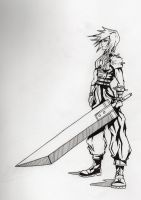 Lightning: SOLDIER 1st Class by supersonic-unicorn