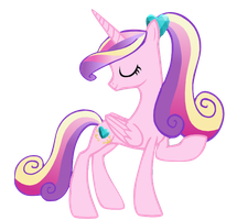 MLP Princess Cadence Ponytail by WinxFloraBloomRoxy