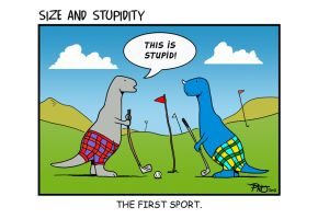 Golf by Size-And-Stupidity