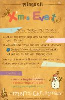 Ringdoll Christmas Event by Ringdoll