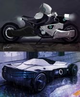 Concept Vehicles by Fenris31