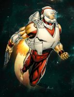Adam Strange by spidermanfan2099