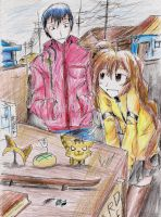 Toradora: cloudy day by hewhowalksdeath