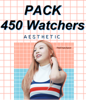 ++PACK | 450 Watchers by ThisEmptySpace