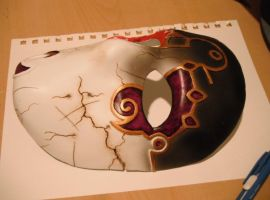 Jack of Blades mask WIP 5 - final coat by Tommster