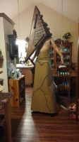 Silent Hill Film Red Pyramid cosplay with stilts by TheDarkAssassin444