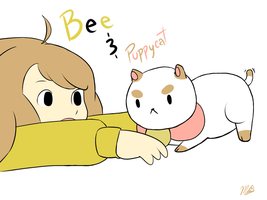 Bee and Puppycat by TwoPizzas