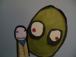 salad fingers by Kurajia