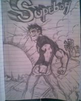 Superboy by Tasous