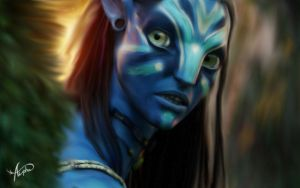 Neytiri is beautyfull warior by Alpha-Lioness