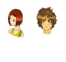 Doodle Heads by NostalgicHummingbird