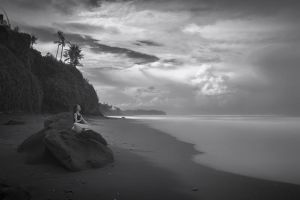 Samadhi - Balian Beach by Hengki24