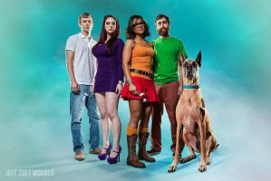 The Scooby gang... before the world went to hell. by jeffzoet