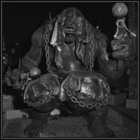 Troll with drums by Macomona