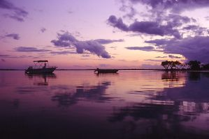 Sunset over Inskip. by monkwhy