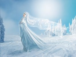Woman Winter by Lubov2001