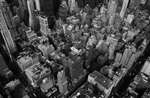 Down on NYC 1600x1050 by lowjacker