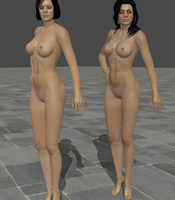 Nude Lawson Sisters! by anorexianevrosa