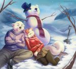 Snow Bear by LCibos
