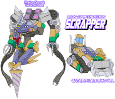 Decepticon Scrapper by Tyrranux