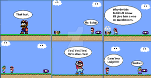 Super Mario world comic 4 by GoldenfrankO