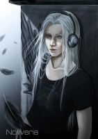 Young Sephiroth by Noweria