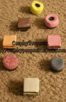 Licorice All Sorts Magnets by CosplayPropsEtc