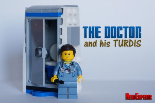 Doctor Poo and the TURDIS by ZaEmpera