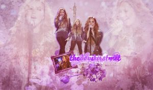+Demi Wallpaper by YOLOEditions