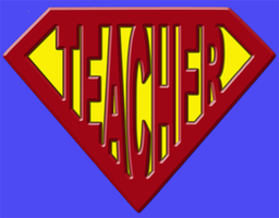 Super teacher by barenakedtshirts