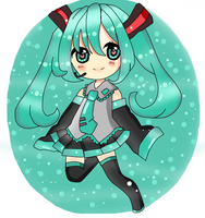 Contest Entry:Miku by DreamerGirlMe