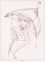 Kele : Lil' Umbrella by trydisegna