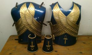 Egytion style armour by DragonArmoury