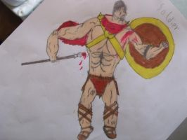 Leonidas from 300 by Jack-the-hedgehog15
