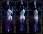 Diminishing Candle Triptych by CatCouch