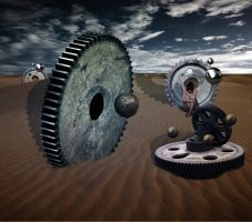 A Shift in Gears by GeminIImages