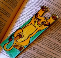 SIMBA .:Bookmark:. by acid-drinker