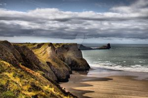 Worms Head by welshbeck