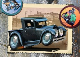29 Ford pick-up RedHotTiki by RedHotTiki