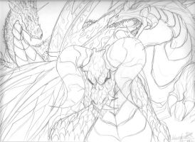 Three Dragons by Bruja-JackParawas