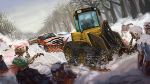 Zed North: Zombie Plowing by CrowbarTK-Hullo