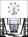 [MMD] Building - Ferris Wheel Automated Spin (DL) by arisumatio