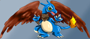 Chibie Charizard by SuperSonic3