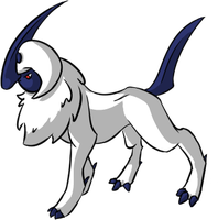 Ink Absol by Brookreed