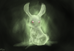 Escaped rabbit by vanipy05