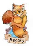 Arcais Badge by JesterDeLorean