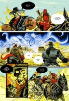 Ghost Rider v Hellboy by danmcdaid