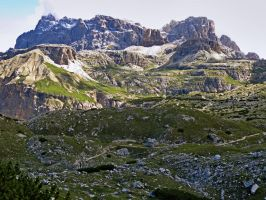 Mountains - Dolomiti di Sesto 1 by Sergiba